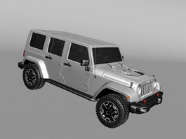 Jeep Commander 3d preview