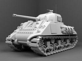 M4 Sherman Tank 3d preview