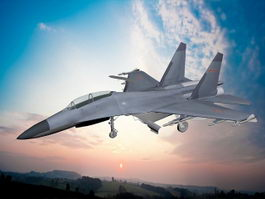 J-11 Chinese Jet Fighter 3d preview