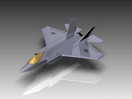 F-35C Fighter Aircraft 3d preview