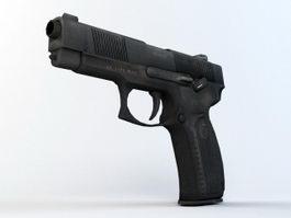 MP-443 Grach Pistol 3d preview