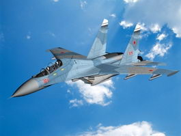 Su-30 Flanker Fighter Aircraft 3d preview