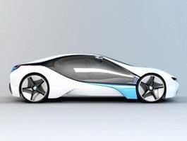 BMW Concept Car 3d preview