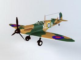 Spitfire Mk1 Fighter 3d preview