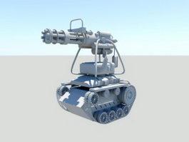 Robot Battle Tank 3d preview