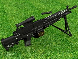 Tactical Rifle 3d preview