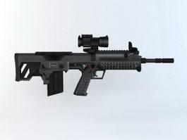 Kel-Tec RFB Rifle 3d preview