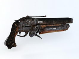 Sawed-Off Shotgun 3d preview