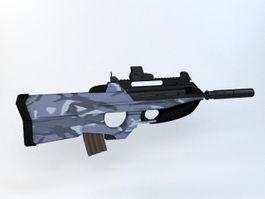 F2000 Tactical Assault Rifle 3d preview