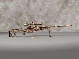 Heavy Sniper Rifle 3d preview