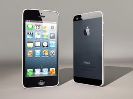 iPhone 5 Plus 3d preview