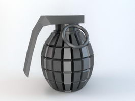 Frag Grenade 3d preview