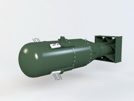 Nuclear Bomb 3d preview
