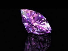 Purple Diamond 3d preview