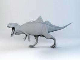 Concavenator Dinosaur 3d preview