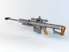Anti Material Rifle 3d preview