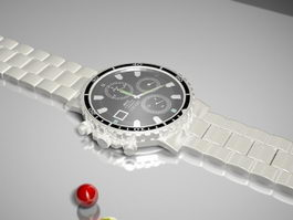 Seiko Watch 3d preview