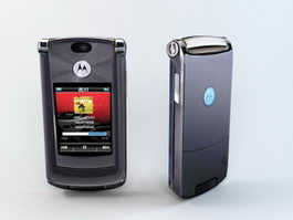 Motorola Razr2 V8 3d preview