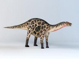 Dicraeosaurus Dinosaur 3d preview
