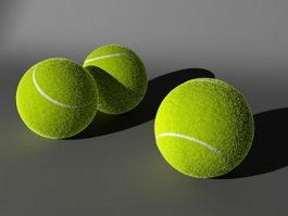 Tennis Ball 3d preview