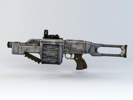 Grenade Launcher 3d preview