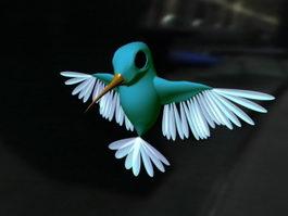 Hummingbird Rig 3d model preview