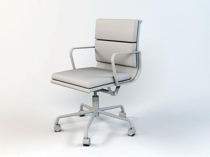 Office Revolving Chair 3d rendering