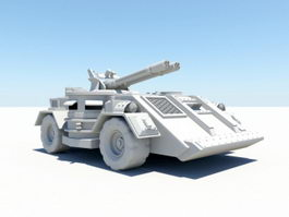 Armoured Fighting Vehicle 3d preview