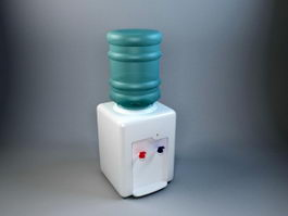 Small Water Dispenser 3d preview
