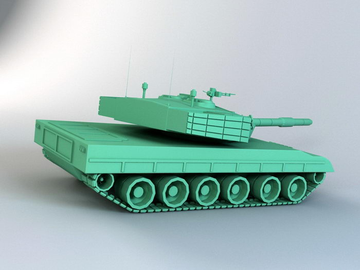 Chinese Type 96 Tank 3d rendering