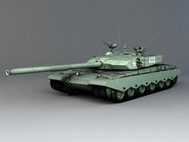 Type 99A Tank 3d preview