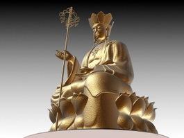 Ksitigarbha Bodhisattva 3d preview