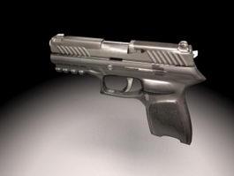 Handgun Weapon 3d preview