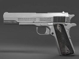 Colt 1913 Pistol 3d model preview