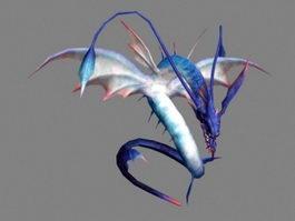 Amphiptere Dragon 3d preview