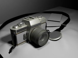 Digital Camera 3d preview