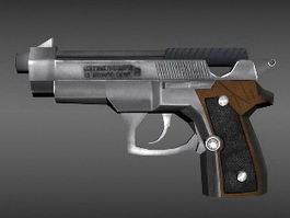 Colt Pistol 3d preview