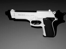 Pistol Gun 3d preview