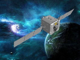 GPS Satellite 3d preview