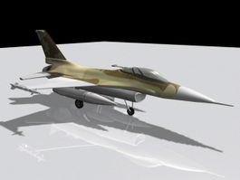 F16 Fighting Falcon 3d preview