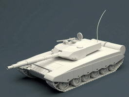 Type 99 Tank 3d preview