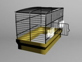 Large Birdcage 3d model preview