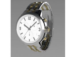 Tissot Watch 3d preview