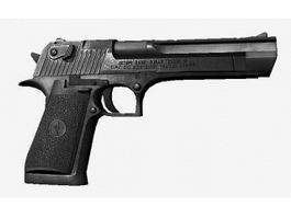 Police Pistol 3d preview
