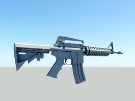 M16 Assault Rifle 3d preview