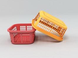 Plastic Basket 3d preview