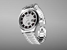 Ernest Borel Watch 3d preview