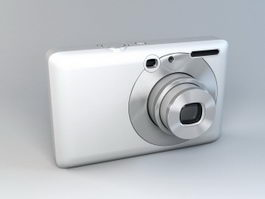 Compact Camera 3d model preview