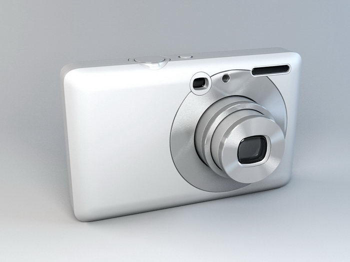 Compact Camera 3d rendering