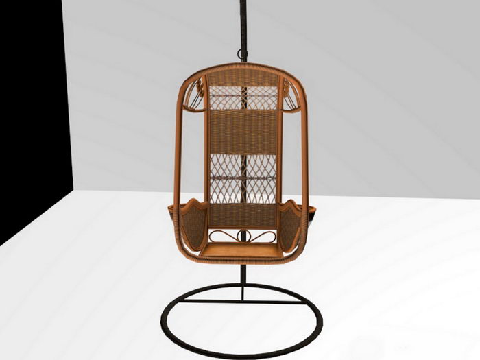 Swing Chair 3d rendering